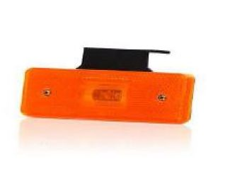PILOTO LED RECTANGULAR AMBAR R35