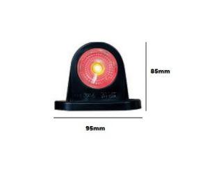 PILOTO POSICION DELANTERO TRASERO LED R8/1