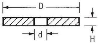 Arandela DIN125-A M12  MEDIDAS:   DIAMETRO INTERIOR 13.00mm  DIAMETRO EXTERIOR 24.00mm  ANCHO 2.50mm