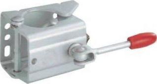 Abrazadera alko rueda jockey de ø 60mm. Unitec 10331 - Estribo para soporte de remolque y rueda de apoyo (48 mm)