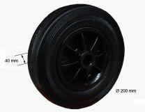 Repuesto rueda jockey plástico 200x50x20 340050