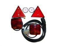 Instalación eléctrica 7polos 7m S/N PEQ. 2600001/7
