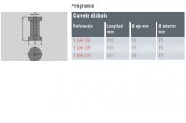 CARRETE DIABOLO *75 L=100 1296036