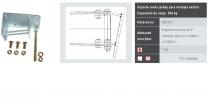 soporte rueda jockey montaje central 500/248811