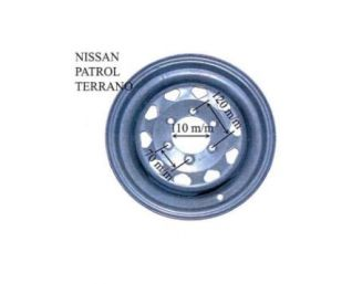 Ejes con freno marca KNOTT.1550KG. ATAQUES DISPONIBLES : SEAT/NISSAN/SUZUKI/LAND ROVER.