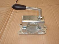 Abrazadera para rueda jockey estriada 48mm 340206