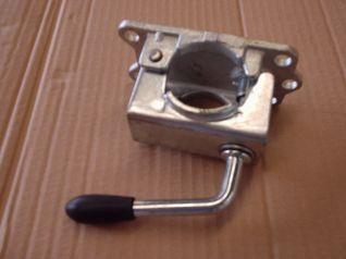 Abrazadera rueda jockey estriada de 48mm 340206 LM