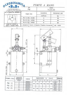 BOMBA MANUAL 5L S/E HIERRO C.PALANCA - 550019
