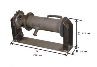 Carrete I. 030101 (260mm) SE SIRVE EN NEGRO SIN CINCAR (PARA SOLDAR O PINTAR).