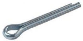 PASADOR DE ALETA 3.5X35  LARGO 35 mm  DIAMETRO 3.5 mm  acabado cincado en plata.
