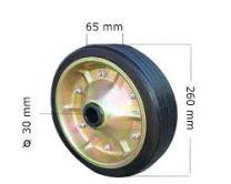 Repuesto rueda jockey Alko 260x65x30 Ref:649238