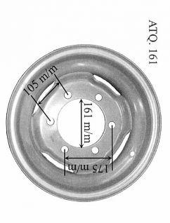 llanta 5.50Jx16 ATQ.161 REF.CON ARILLO  REF: 380001