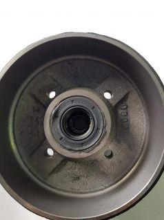 TAMBOR DE 160x35mm GEPLASMETAL DE 1 RODAMIENTO integral o compacto. REF:7005389  ATAQUE SEAT DE 4 TORNILLOS. 4TX98