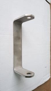 Soporte de rodillo de quilla liso INOX ref: 580059