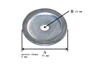 porta rueda de repuesto pequeño