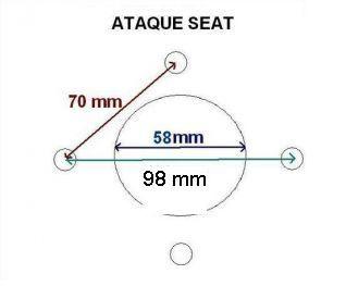 llanta accesorio remolque 5.375x8 seat
