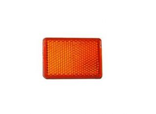 Refletante rectangular naranja.
