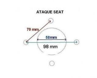 RUEDA 3.50x8 COMPLETA PARA REMOLQUE DE COCHE ATAQUE SEAT