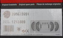 Zapatas alko tambor de Ø200mm. 1213889
